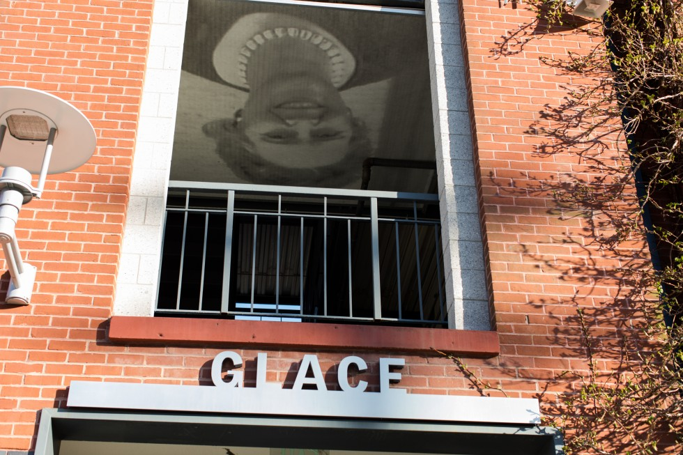 Exterior of Glace Hall.