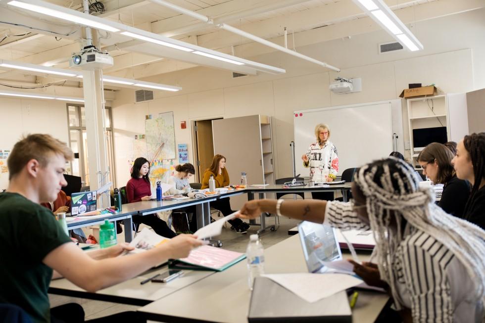 Inside a BFA/MAT classroom