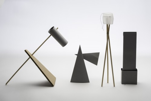 Lamp designs by Carrie Carter