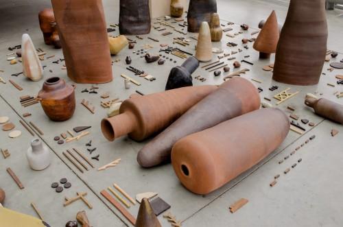 Ceramic exhibition by Liz Langyher