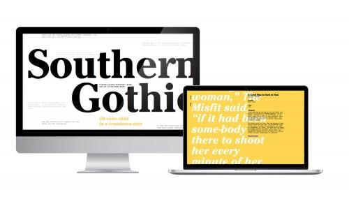 Serif type design
