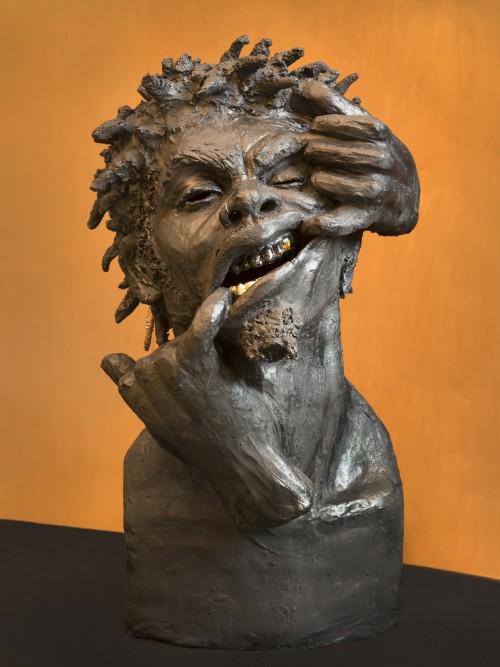 Ceramic sculpture by Murjoni Merriweather