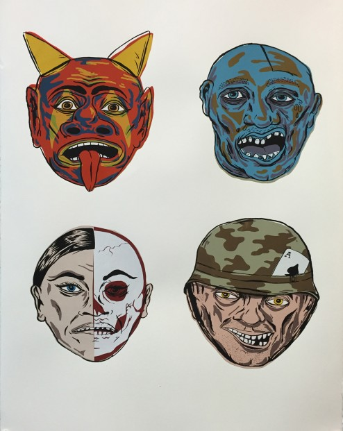 Masks by Will Chapman