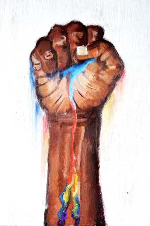 Fighting for all black lives by James Thaler '24