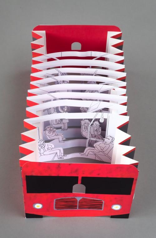 Paper cutout by Kaixin Wang