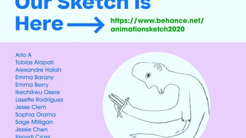 sketch flyer  design:  Decong Ma