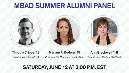 MICA MPS Business of Art and Design Alumni Summer Panel Event