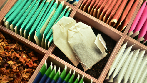 An assortment of tea.